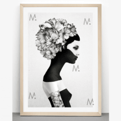 Blackgirl - Multicuadros - Moda en tu pared