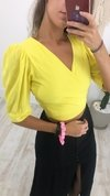 Cropped Princesa Yellow