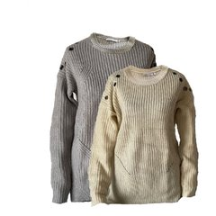 sweater con arandelas