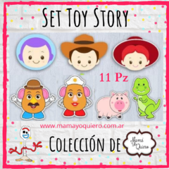 Cortante Set Completo Toy Story