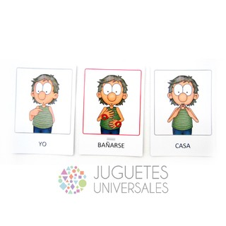 Cartas LSA - vocabulario cotidiano