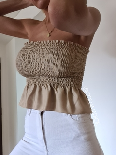 Malica Strapless Top en internet