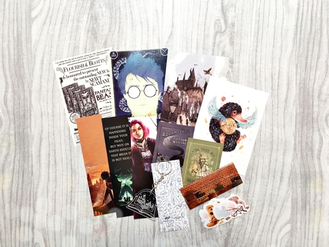 Kit Postales Harry Potter