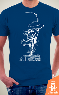 Camiseta Breaking Bad - Fumaça no Deserto - by RicoMambo na internet