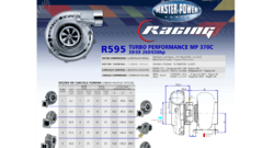 Turbo Master Power Racing R595/9 (360 - 650 HP) Competición