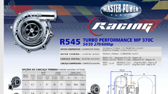 Turbo Master Power Racing R545/4 (270-600 Hp) Competición