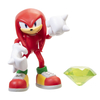 Figura Sonic The Hedgehog Articulada Modern Knuckles +  Green Chaos Emerald Jakks