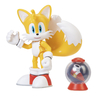 Figura Sonic The Hedgehog Articulada Modern Tails + Fast Shoe Item Box Jakks