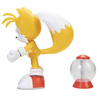 Figura Sonic The Hedgehog Articulada Modern Tails + Invincible Item Box Jakks - comprar online