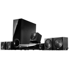 Home Theater LG HB806SV 5.1 Canais com Blu-ray Player 3D, Saída HDMI e Entrada USB Ripping - 850 W