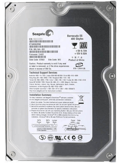 HD 400GB SATA SEAGATE BARRACUDA