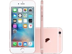 "iPhone 6s Apple com 16GB e Tela 4,7"" HD com 3D Touch, iOS 9, Sensor Touch ID, Câmera iSight 12MP, Wi-Fi, 4G, GPS, Bluetooth ROSA - infotecline"