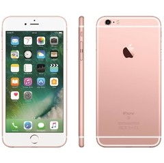 "iPhone 6s Apple com 16GB e Tela 4,7"" HD com 3D Touch, iOS 9, Sensor Touch ID, Câmera iSight 12MP, Wi-Fi, 4G, GPS, Bluetooth ROSA - loja online"