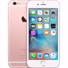 "iPhone 6s Apple com 16GB e Tela 4,7"" HD com 3D Touch, iOS 9, Sensor Touch ID, Câmera iSight 12MP, Wi-Fi, 4G, GPS, Bluetooth ROSA"