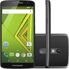 Smartphone Moto X Play 16GB XT-1563 Preto com Tela de 5.5'', Dual Chip, Android 5.1, 4G, Câmera 21MP e  Qualcomm Octa-Core