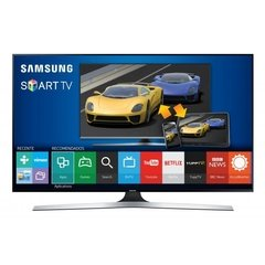 "Smart TV 3D LED 48"" Full HD Samsung 48J6400 com Connect Share Movie, Screen Mirroring, Quad Core, Wi-Fi e 2 Óculos 3D"