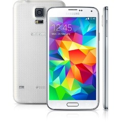 SMARTPHONE SAMSUNG GALAXY S5 DUOS SM-G900M DUAL CHIP DESBLOQUEADO ANDROID 4.4 32GB 4G WI-FI GPS - BRANCO - infotecline