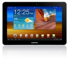 "Tablet Samsung Galaxy Tab P7500 3G com Tela 10.1"" 16GB, Câmera 3.2MP, Swype, Wi-Fi, GPS, Bluetooth e Android 3.1"