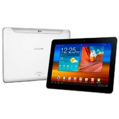 "Tablet Samsung Galaxy Tab P7500 branco 3G Com Tela 10.1"" 16GB, Câmera 3.2MP, Swype, Wi-Fi, GPS, Bluetooth E Android 3.1"