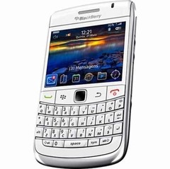 celular BlackBerry Curve 3G 9300, branco, Foto 2 Mpx, Blackberry OS 6.0, Rede HSDPA, Gps, Quad Band (850/900/1800/1900)