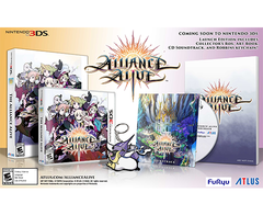 The Alliance Alive - LAUNCH EDITION - Nintendo 3DS