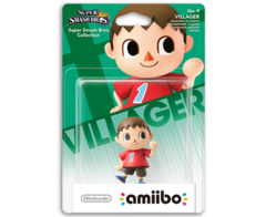 Amiibo Super Smash Bros. - Villager Animal Crossing