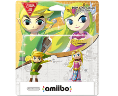 Amiibo 30th Anniversary Zelda - Pack Toon Link & Zelda - The Wind Waker