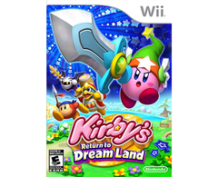 Kirby's Return to Dream Land - WII