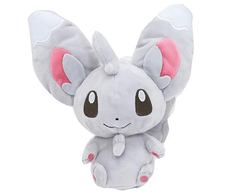 Plush Pokemon (Original SANEI Pocket Monsters PM33) - Minccino 9inch