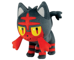 Plush Pokemon Official TOMY -Litten 8 Inch