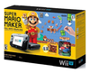 Nintendo Wii U 32 GB Deluxe Set - Super Mario Maker Bundle (Incluye Super Mario Maker + Idea Book + Amiibo 8 BIT MARIO)