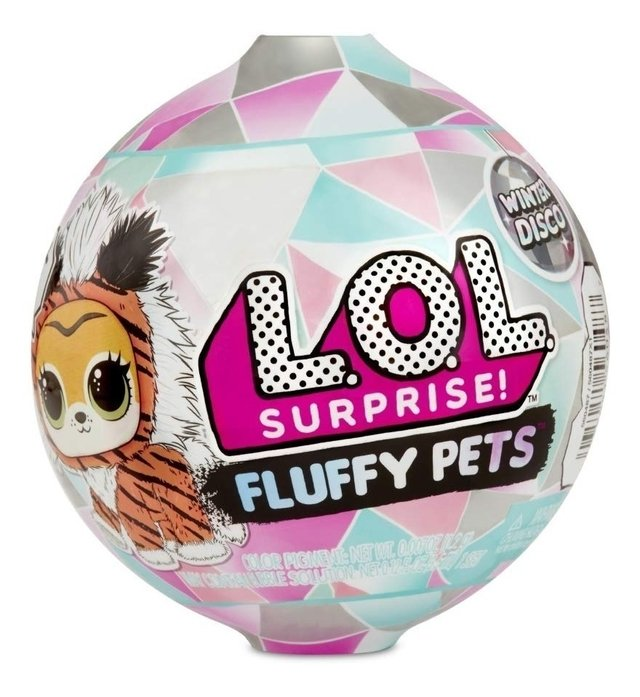 LOL SURPRISE FLUFFY PETS EDICIÓN WINTER DISCO ORIGINAL