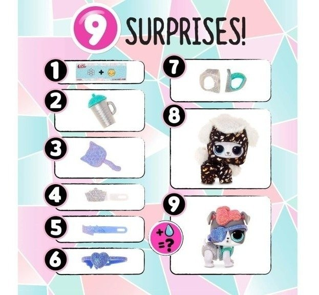 LOL SURPRISE FLUFFY PETS EDICIÓN WINTER DISCO ORIGINAL - comprar online