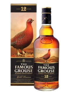 Whisky The Famous Grouse 12 Años Gold Reserve Origen Escocia.