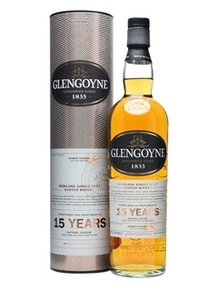 Whisky Single Malt Glengoyne 15 Años 700ml En Estuche.