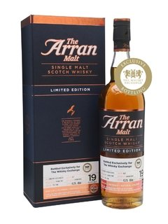 Whisky Single Malt The Arran 19 Años Edición Limitada 53,5% abv.