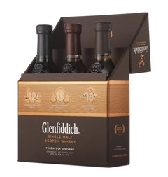 Whisky Glenfiddich Explorer's Collection en Estuche, Origen Escocia. - comprar online