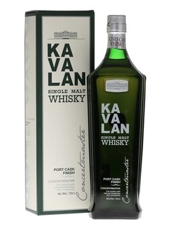 Whisky Single Malt Kavalan Port Cask Finish Origen Taiwan.