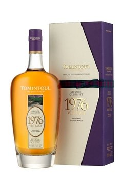 Whisky Single Malt Tomintoul 1976 Vintage, Edición Limitada.