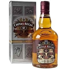 Whisky Chivas Regal 12 Años 375ml En Estuche.