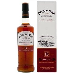 Whisky Single Malt Bowmore 15 Años Sherry Cask Finished.