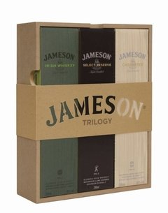 Whisky Irlandés Jameson Trilogy Gift Pack 3 X 200ml C/una en internet