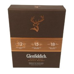 Whisky Glenfiddich Explorer's Collection en Estuche, Origen Escocia. en internet