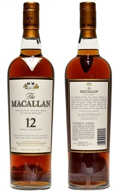 Whisky Single Malt The Macallan 12 Años Sherry Cask. - comprar online