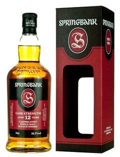 Whisky Single Malt Springbank 12 Años Cask Strength 56,5% ABV. - comprar online