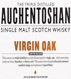 Whisky Single Malt Auchentoshan Virgin Oak Edición Limitada. - Todo Whisky