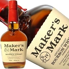 Whiskey Bourbon Makers Mark, Botellón de litro!