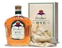 Whisky Crown Royal Rye Northern Harvest Botellón De Litro.
