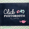 "Cartel ""Click Photobooth"" - comprar online"