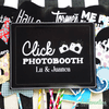 "Cartel ""Click Photobooth"""